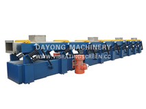 Plated Spring Vibratory Conveyor
